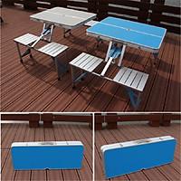 Bộ bàn ghế xếp ngoài trời