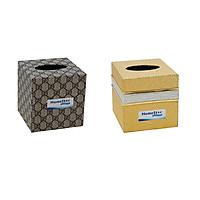 Combo 2 Hộp đựng giấy ăn, khăn giấy golden và Homesta (Màu ngẫu nhiên)
