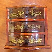 Tủ gỗ mini (vuông)