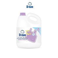 Dung Dịch Giặt Quần Áo Cho Bé D-Nee - Chai 3000ml (Tím)