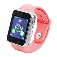Đồng hồ thông minh SmartWatch A1 màu Hồng - Tặng tấm dán cường lực