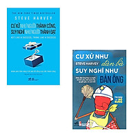 Combo 2 cuốn sách của Steve Harvey: Cư Xử Như Đàn Bà Suy Nghĩ Như Đàn Ông - Cư Xử Như Người Thành Công Suy Nghĩ Như Người Thành Đạt