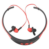 Wireless 4.1 Bluetooth Headset In-Ear Stereo Sports Headphone Earphone-Blue, Red, White, Black