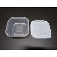 Bộ 03 hộp đựng thực phẩm bằng nhựa PP cao cấp 500mL - Hàng nội địa Nhật