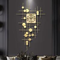 Đồng hồ phù điêu treo tường mạ vàng FBB0030