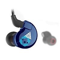 Tai nghe QKZ VK8 Driver kép Vỏ kim loại Âm thanh Hires Có micro - Hàng chính hãng