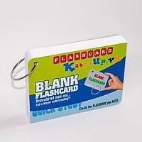 Flashcard Trắng 10×15