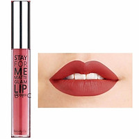 Son Kem Lì Stay For Me Matte Glam Lip Lacquer