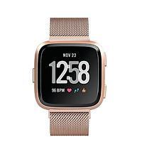 Dây đồng hồ cho Fitbit Versa lưới Rose Gold