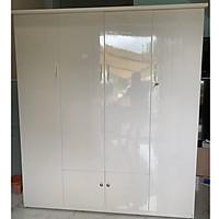 Tủ nhựa đài loan 4 cánh 165x185 nhựa đài loan(TPHCM)