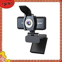 Webcam HXSJ S4 HD 1080P USB3.0 2.0 Có Thể Điều Chỉnh 360° Kèm Mic Cho Cuộc Gọi Video - Hàng Chính Hãng