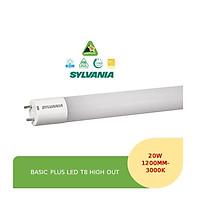 ĐÈN LED TUÝP T8 BASIC PLUS LED T8 HIGH OUT 20W - EUROLUX LIGHTING - HÀNG CHÍNH HÃNG - THƯƠNG HIỆU SYLVANIA