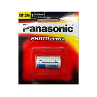 Pin CR123A Panasonic Lithium Photo Power 3V chính hãng vỉ 1 viên