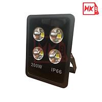 HKLED - Đèn pha tròn vuông LED ngoài trời 200W - IP65 - DPTV200