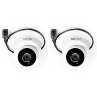 Bộ 2 Camera IP giám sát hồng ngoại NetCAM NC-109IP 1.3 - Hàng Chính Hãng