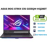 Laptop Asus ROG Strix G15 G513QM-HQ283T (AMD R9-5900HX/ 16GB (8GBx2) DDR4/ 512GB SSD/ RTX 3060 6GB/ 15.6 QHD IPS, 165Hz/3ms, Adaptive-Sync/ Win10) - Hàng Chính Hãng
