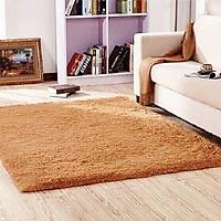 Thảm lông trải sàn 1m6x2m - màu vàng bò