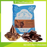 [ĂN BAO GHIỀN❤️] Bột Làm Kem Tươi THUCPHAM.COM Vị Chocolate 1kg - Công Thức Độc Quyền Hương Vị Mới, Không Gắt, Không Hắc