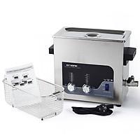 Bể rửa siêu âm GTsonic-T6, 6 lít  làm sạch đa năng cho phụ kiện oto, xe máy, dụng cụ gia đình – Hàng chính hãng