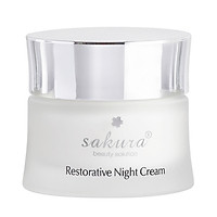 Kem Dưỡng Phục Hồi Chống Lão Hoá Ban Đêm Sakura Restorative Night Cream (30g)