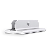 Original Xiaomi Edin Office NoteBook Vertical Stand Holder For Macbook Pro Air iPad Portable Aluminum Alloy Laptop - Silver