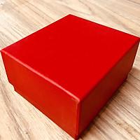 Hộp giấy cứng đựng đồng hồ màu đỏ Gm2 mẫu mới,dùng dựng đồng hồ hoặc đồ trang sức,