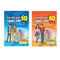 Combo Em Học Giỏi Tiếng Anh Lớp 10 - Tập 1 + tập 2 tải file hoặc CD