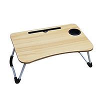 Bàn làm việc, học để ipad, cốc nước tiện lợi,bàn học mini-bàn gỗ gấp gọn - Giao màu ngẫu nhiên