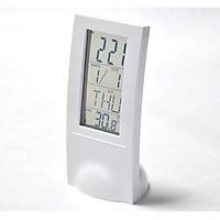 Đồng hồ để bàn màn hình LCD trong suốt