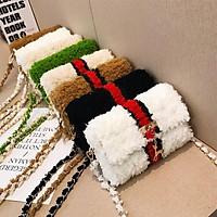 Túi len tự đan, túi handmade siêu hot 2021