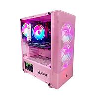 Vỏ Case Gaming VSP B86 Pink (Màu Hồng) - Hàng Chính Hãng