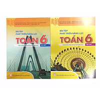 Combo Bài Tập Phát Triển Năng Lực Toán Lớp 6 Tập 1+2