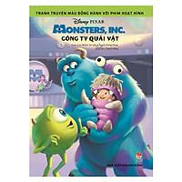 Tranh Truyện Màu Đồng Hành Với Phim Hoạt Hình: Monster, Inc. - Công Ty Quái Vật