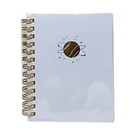 Sổ Ghi Nhớ Lò Xo Bìa Cứng Goden Foil - 82430 - Hình Hành Tinh