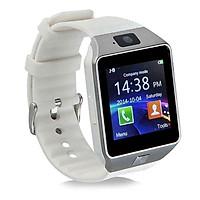 Đồng hồ thông minh Smart Watch DZ09 (Trắng)