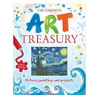 Sách thiếu nhi tiếng Anh - Usborne Art Treasury