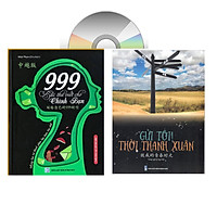 Combo 2 sách 999 bức thư viết cho chính mình song ngữ Trung việt có phiên âm MP3 nghe+ gởi tôi thời thanh xuân song ngữ Trung việt có phiên âm có mp3 nghe+DVD tài liệu