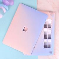 COMBO 3in1 - Case, ốp kèm phủ phím dành cho Macbook - Màu Gradient [Tặng kèm nút chống bụi Macbook - Màu ngẫu nhiên] - Hàng chính hãng