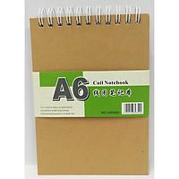 Sổ Lò Xo Bìa Cứng 50H350 - A6