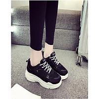 Giày sneakers nữ độn đế cao cấp chống trơn