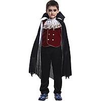 Bộ đồ bá tước Dracula hóa trang Halloween cho bé B-0038