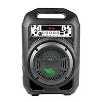 Loa Kẹo Kéo Bluetooth Hát Cực Hay Cắm Micro Thẻ Nhớ USB Điện thoại Tivi PKCB95 - Hàng Chính Hãng