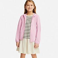Áo khoác chống nắng thun lạnh bé gái