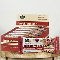 Thanh dinh dưỡng Brookfarm Whole grains bar (C)- Hộp 12 thanh