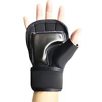 Găng Tập GYM cao cấp dành cho Nam Nữ có quấn cổ tay lót lòng bằng da bảo vệ tay tránh lật cổ tay