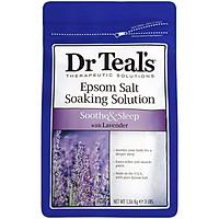 Muối tắm Epsom tinh dầu oải hương Dr Teal's giúp giảm nhức mỏi, ngủ ngon 1.36kg