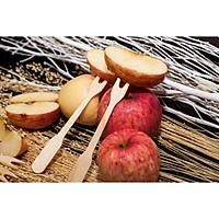 Nĩa gỗ xài 1 lần vô cùng tiện lợi, tiết kiệm chi phí và thân thiện môi trường