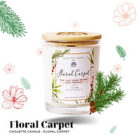 Ly nến thơm Chouette Candle CHC1010 Floral Carpet 182g