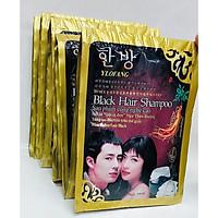 Combo 5 Gói Dầu Gội Nhuộm Đen Tóc Hàn Quốc