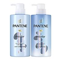 Dầu Xả Pantene Pro-V Micellar Làm Sạch Sâu Chiết xuất Tảo biển 300 ml
